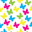seamless pattern of a butterfly