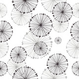 seamless pattern of dandelion - 41672212