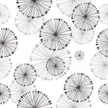 seamless pattern de pissenlit