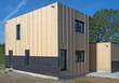 Construction d'une maison individuelle avec bardage bois