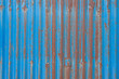 Old zinc rust sheet with beautiful
