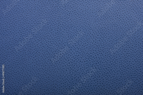Aluminium Leder Blaues Leder Oberfläche