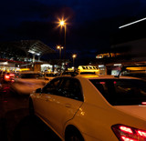 Fototapety Abends am Taxistand