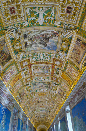 Interior of the Vatican Museums