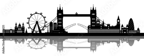 London Skyline detailed