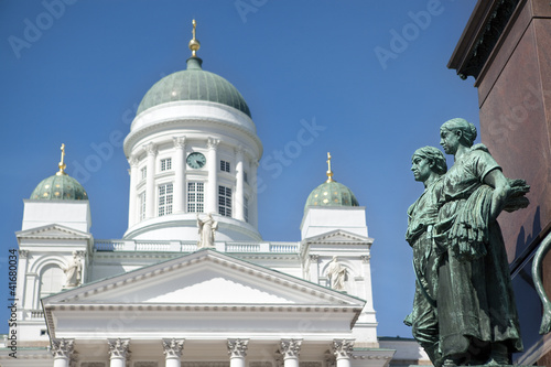 Helsinki Lutheran Cathedral domes, Finland