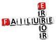 3D Failure Error Crossword