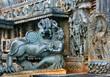 Detail Chennakesava-Temple, Belur, Indien