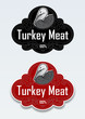 Turkey Meat Seal / Stciker