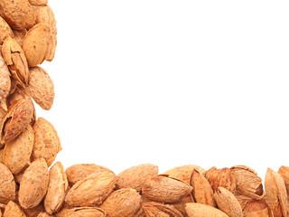 Almonds - angle.