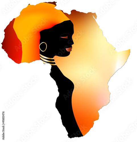 Fototapeten,weiblich,afrika,afrikanisch,schwarz