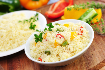 Couscous, lecker