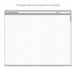 Printable sketch templates for websites