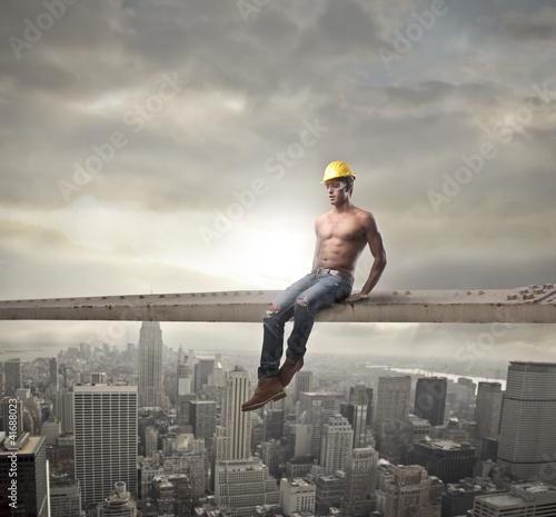 Fototapeten,konstruktion,gebäude,kräfte,worker