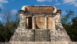 Mayan Dais at Chichen Itza poster