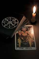 tarot card, the devil