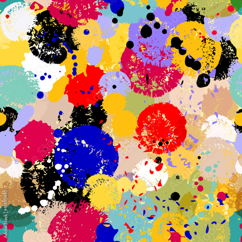 abstract paint splashes background