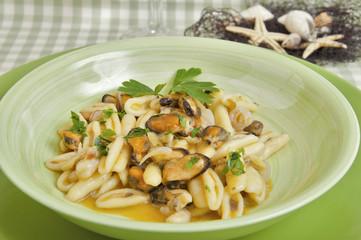cicatelli Molise-style seafood with shellfish