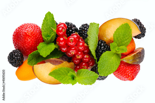 Fruit mix with