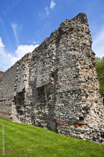 Remains of London Wall