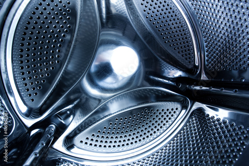 inside washing machine