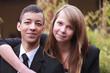 junges, verliebtes Paar