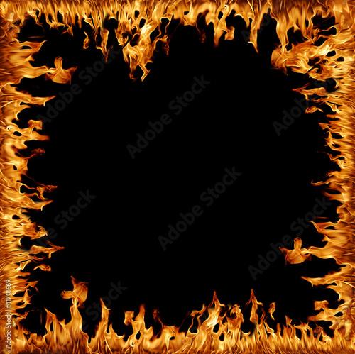 Flammenrahmen