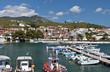 Summer resort at the Halkidiki peninsula in Greece