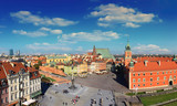 Fototapety Warsaw panorama old city