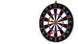 Darts stucks in a target