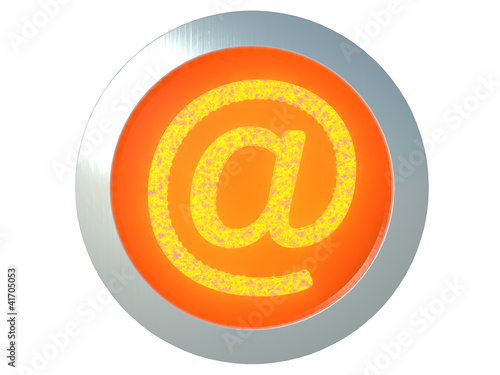 burning e-mail icon