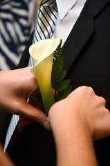 Detalles de una boda