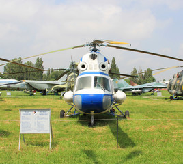 KIEV- MAY 16: Helicopter Mi-2. Aviation Museum. 2012. Ukraine