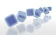 blue cubes-cubos azuis