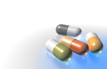 capsulas medicinais - medicinal capsules