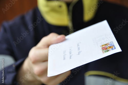 Livraison du courrier - 41712412