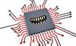 Prozessor mit Zähnen