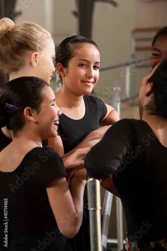 Happy Teenage Ballet Student