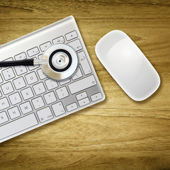 stethoscope keyboard