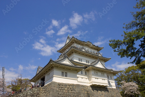 Odawara castle, Japan. National Historic Site