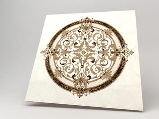 Marmo Decoro Botticino Carrara