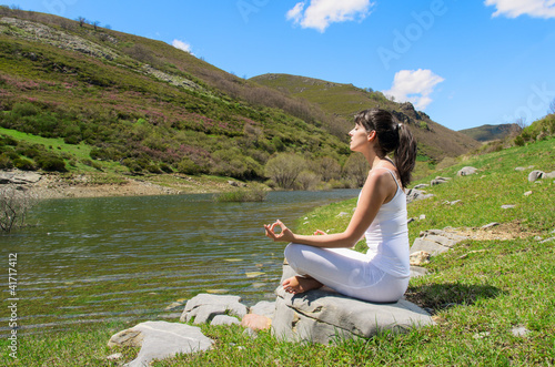 Relax and Yoga Outdoors