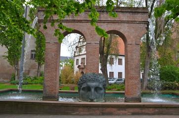 Janus Aqueduct Fountain, Strasbourg