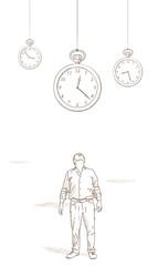 orologi sospesi