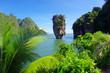 Leinwanddruck Bild - james bond island