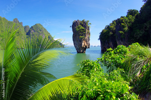 Leinwanddruck Bild james bond island