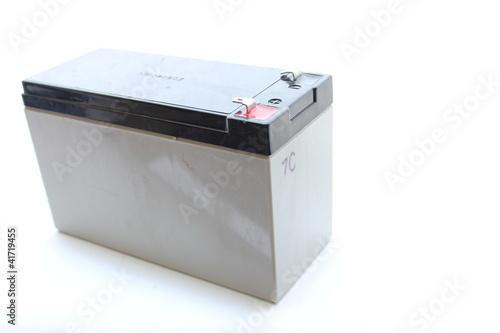 Leinwanddruck Bild Rechargeable Battery