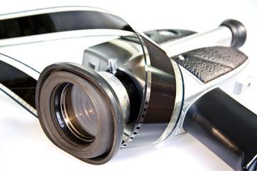 Filmkamera Filmstreifen