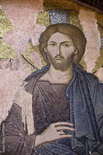 Jesus Christ, Chora Church, Istanbul, Turkey