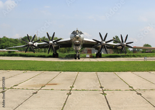 KIEV, UKRAINE- MAY 16: State Aviation Museum